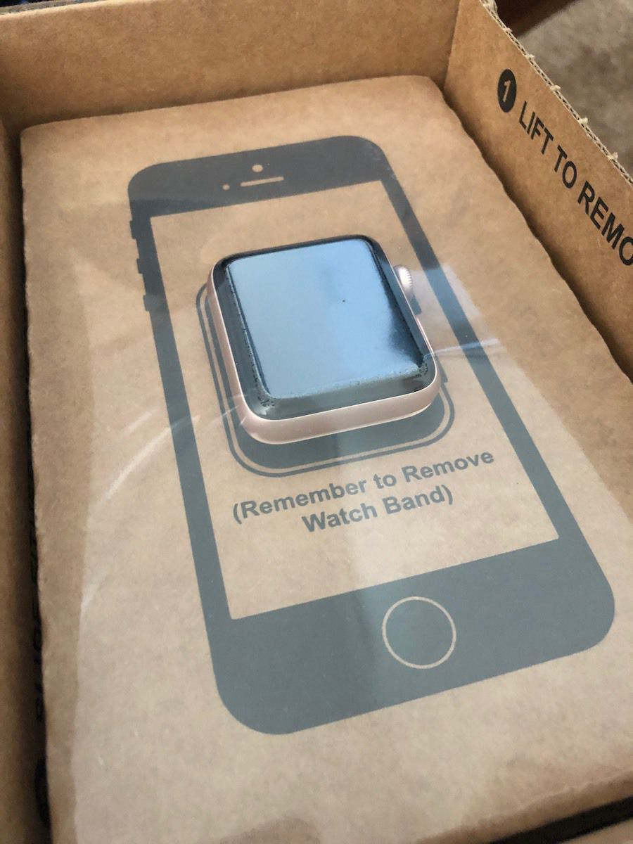 GiveBack Shipping Box with Watch